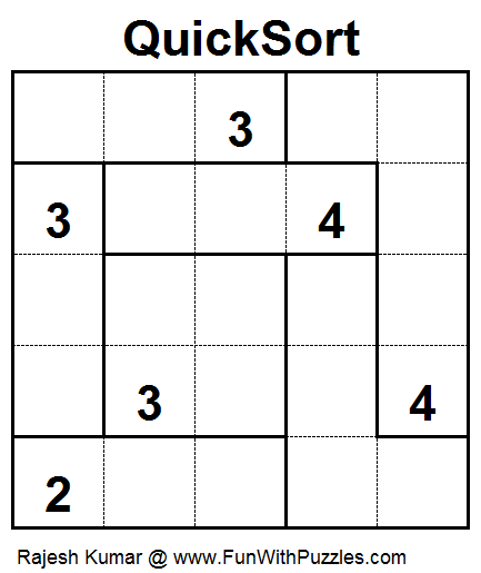 Quick Sort (Mini Puzzles Series #27)