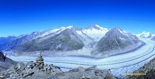 Aletsch Glacier Switzerland