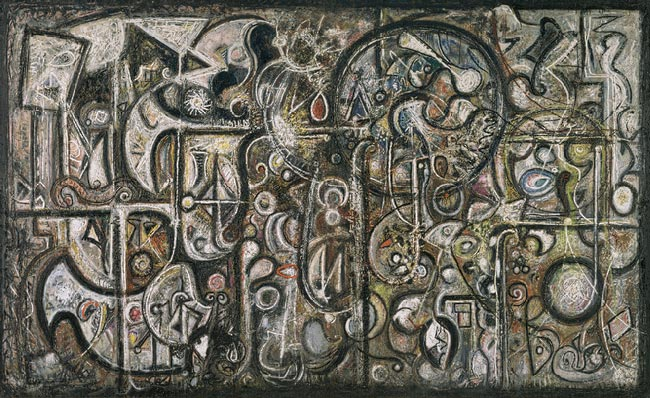 Art Amp Artists Richard Pousette Dart Part 1