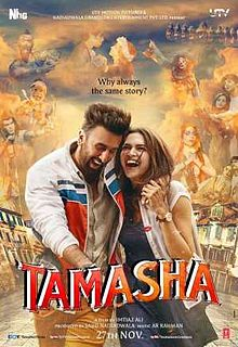 Tamasha 2015 Hindi 130mb DVDScr HEVC Mobile