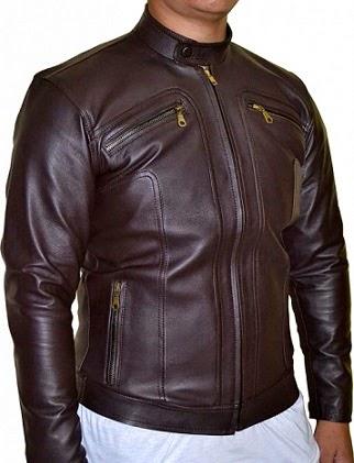 Gambar Jacket Kulit Ariel Coklat