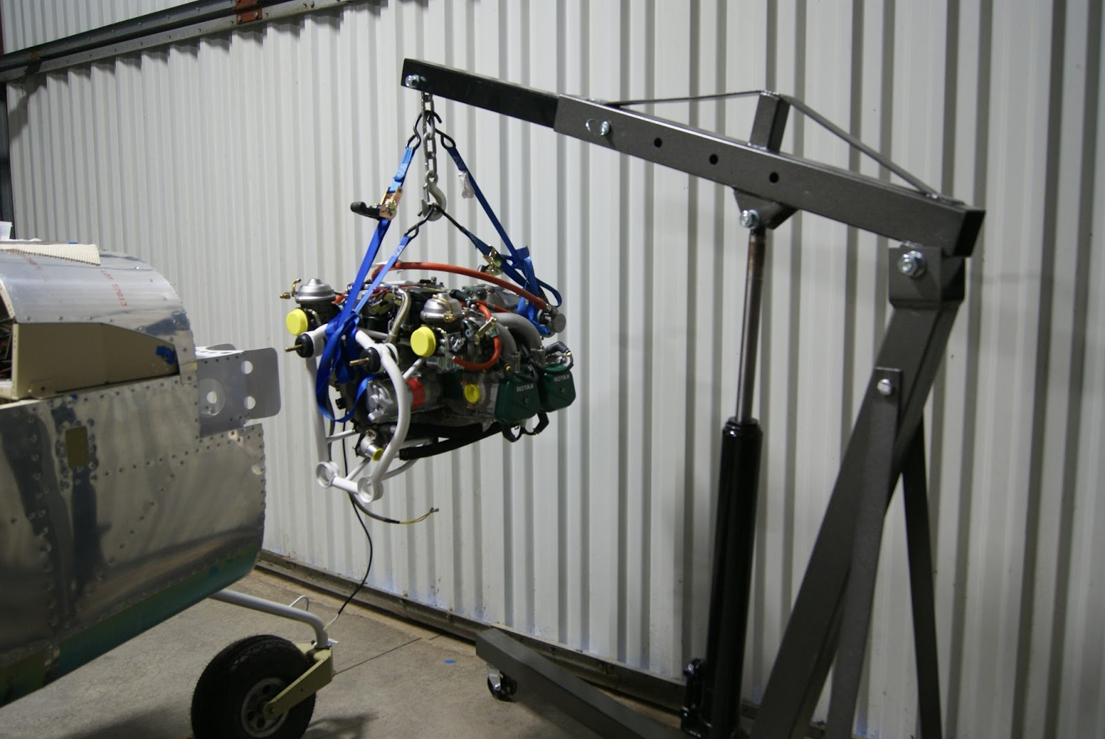 ROTAX 912 ULS ENGINE MOUNTING COMPLETED!!! | Article - Fri