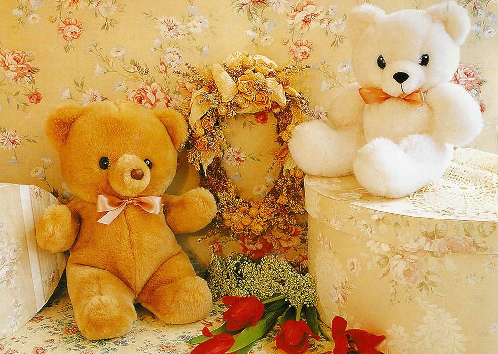 Animation Romantic Bear