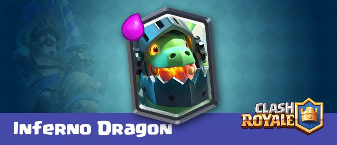 Drago Infernale clash royale