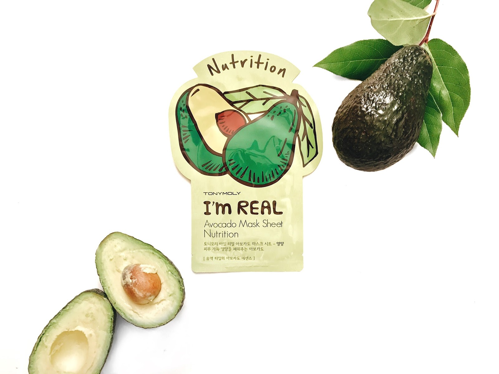 Tony Moly It's Real Avocado Nutrition Sheet Mask reviewed by The Jen Project