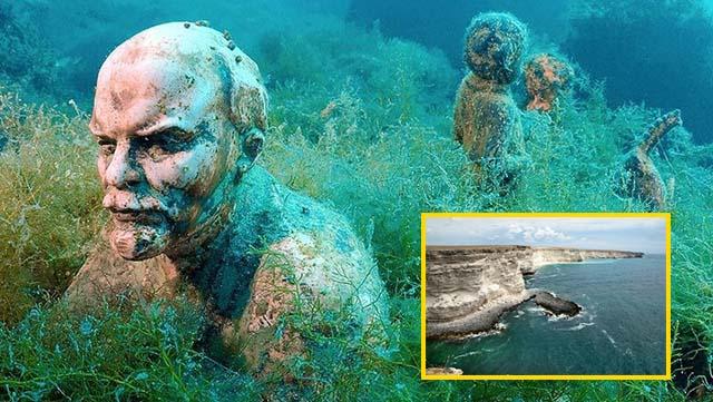 El museo subacuático del cabo Tarkhankut | Crimea