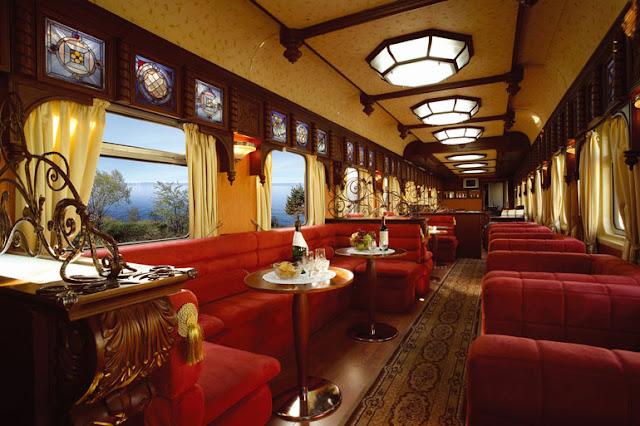 Exclusivo viaje en tren - Foto: www.goldeneagleluxurytrains.com
