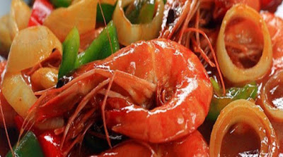 Padang's Spicy Shrimp Sauce
