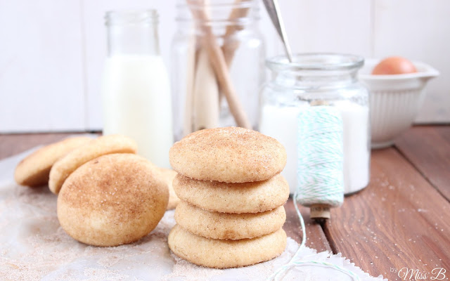 Pinterest made me do it: Snickerdoodles