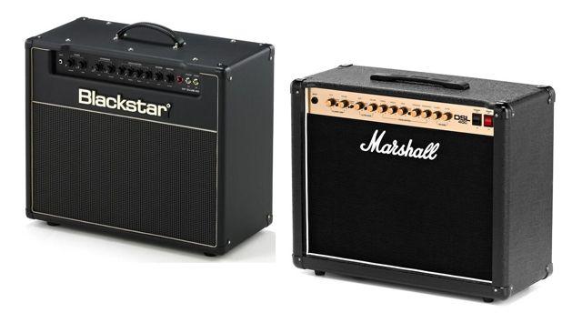 Amplificadores de Guitarra Eléctrica para Tocar en Sala Blackstar HT-Club 40 Vs Marshall DSL40C