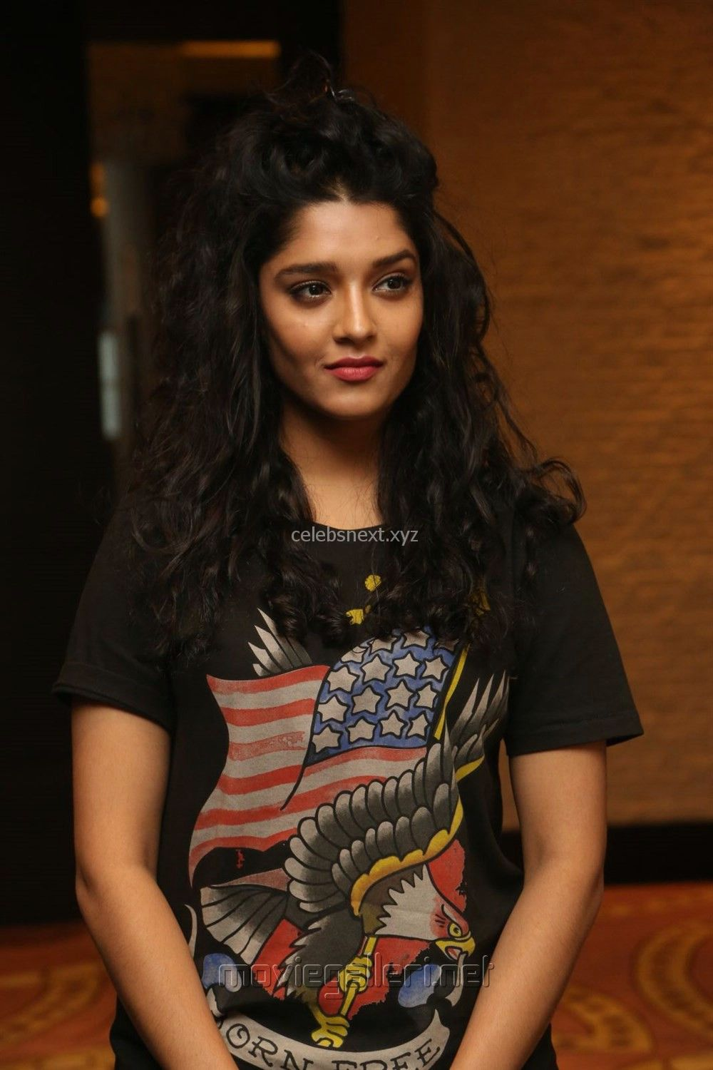 Ritika Singh in Black T-Shirt and Trousers Spicy Pics