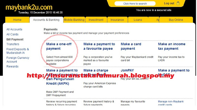 pembayaran AIA Public Takaful guna M2u
