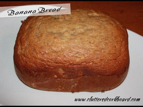 Banana Bread - Bread Machine recipe