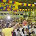 Convenção pró-Ivo Gomes lota ginásio do Colégio Luciano Feijão