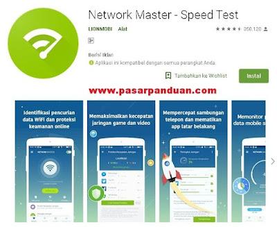 aplikasi uji kecepatan internet