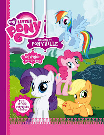 MLP Welcome to Ponyville, Surprise Pop-up Book Book Media