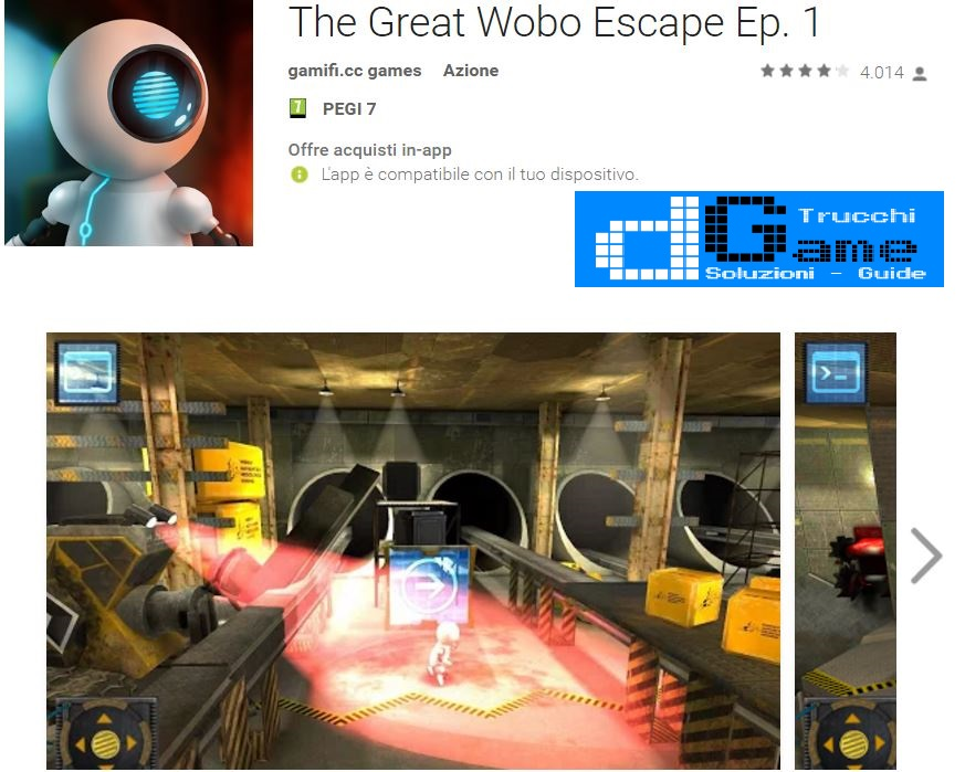 Soluzioni The Great Wobo Escape