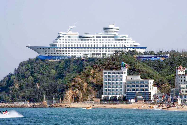 Sun Cruise Resort and Yacht | Corea del Sur