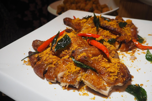 Roasted Chicken With Meat Floss Singapore Review