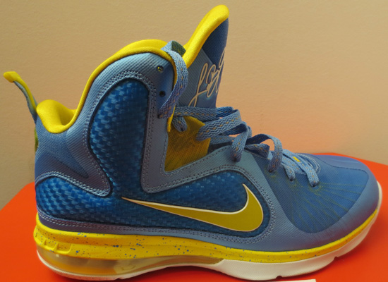 huge discount 4e4d4 cd7b6 This Nike LeBron 9 was made for WNBA Player, Swin Cash.