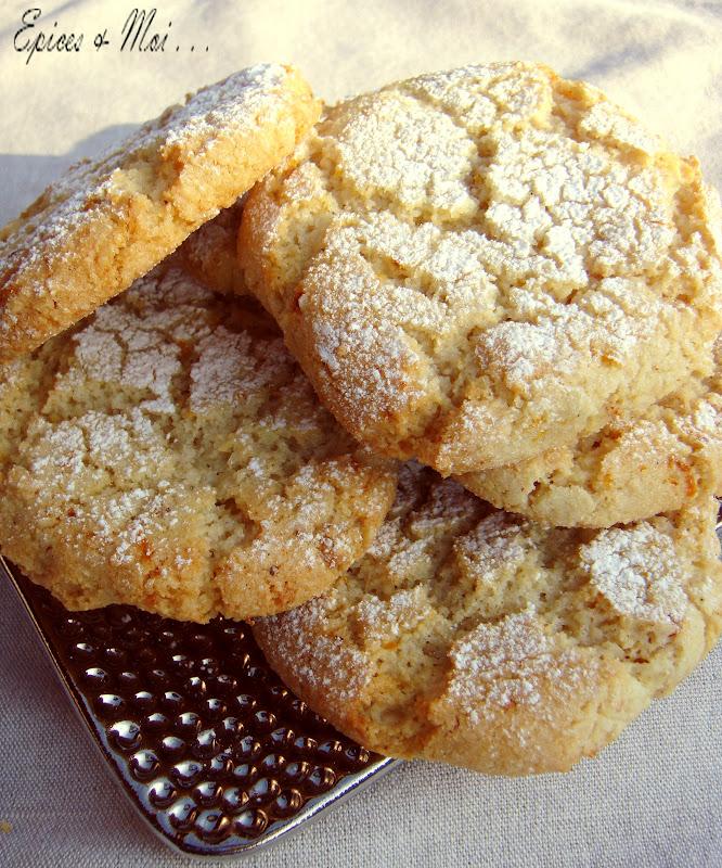 Biscuits Moelleux Aux Amandes Ricciarelli Di Siena Epices Moi
