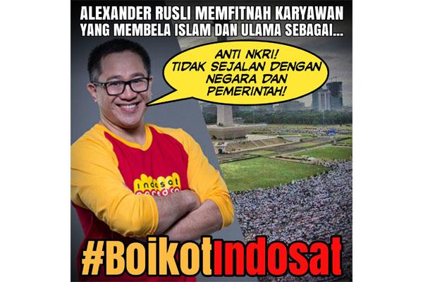Riko Jadi Korban Persekusi Indosat dan Ahoker, Netizen Kompak: BOIKOT INDOSAT!