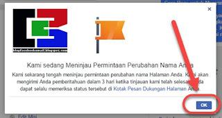 Tutorial Mengganti Nama dan Namapengguna / URL FansPage di Facebook Terbaru 10