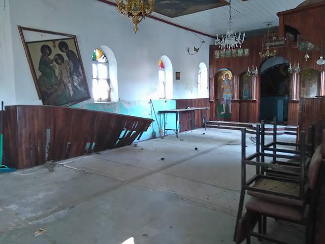 Πρέβεζα: Θλίψη προκαλεί η εικόνα στο εκκλησάκι του Αγίου Ανδρέα στο κάστρο