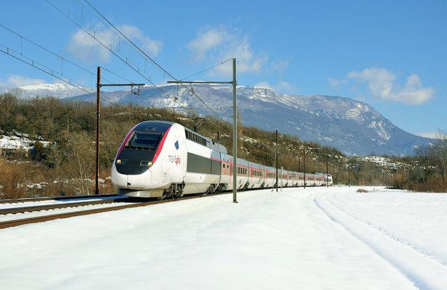 TGV Lyria Genebra