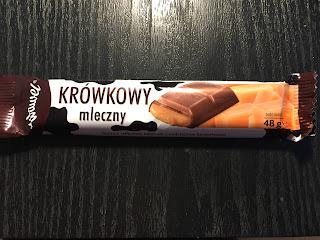 Wir testen den polnischen Schokoriegel Krowkowy mleczny von Wawel SA