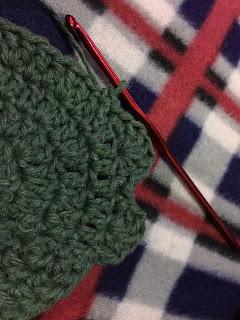 porta copos de croche flor de crochê