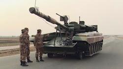 Quân đội Trung Quốc sử dụng mô hình xe TANK T-90 để huấn luyện chiến đấu