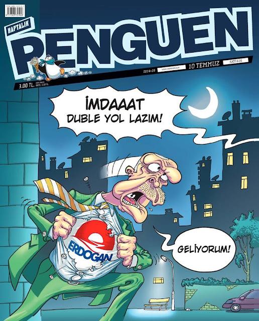 penguen dergisi 10 temmuz 2014 kapak