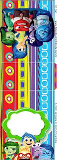 Etiqueta Tic Tac  para Imprimir Gratis de Del Revés.