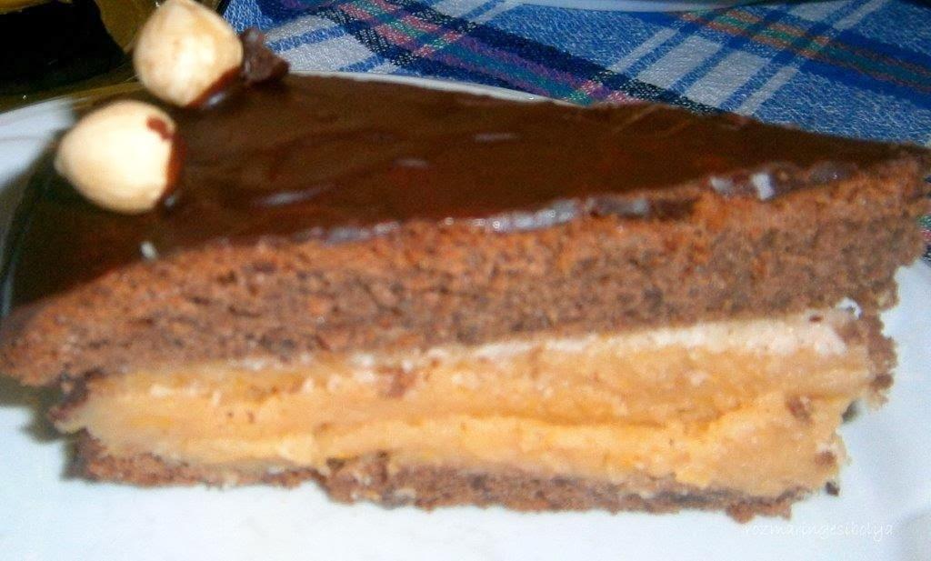 Földimogyorós.,mézes birs torta