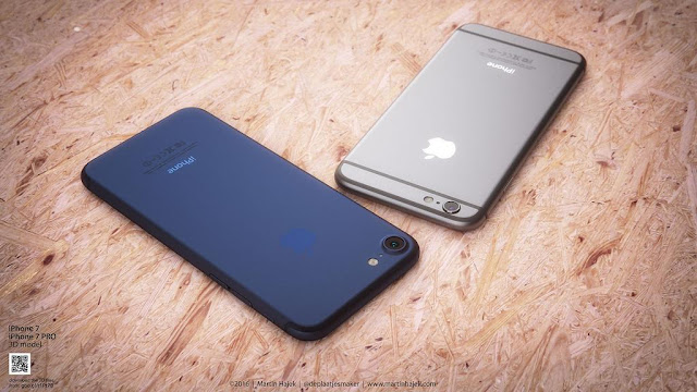 As per rumors, iPhone 7 might come in dark navy blue color but at the expense of space grey one