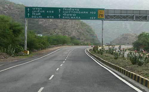 roads in kota