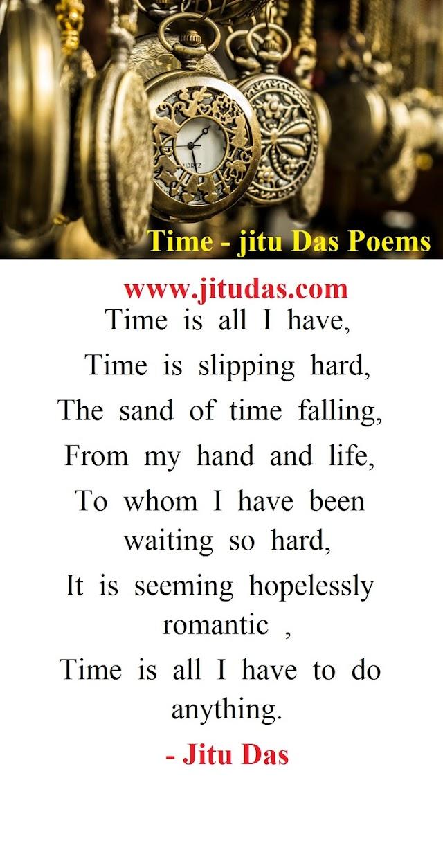 Time poems   by Jitu Das english poems