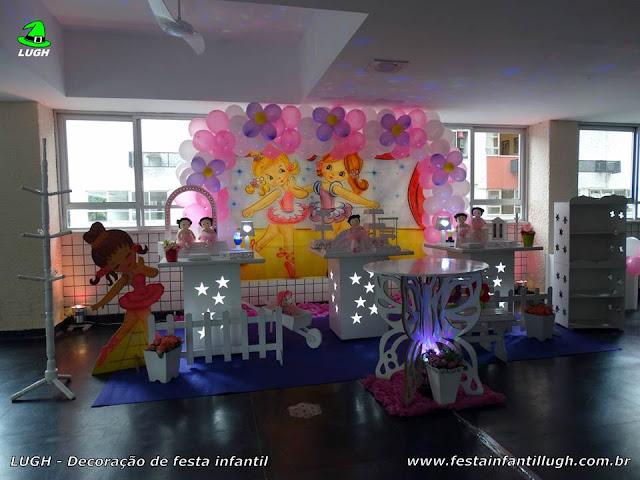 Decoração tema Bailarinas - Festa infantil - Provençal
