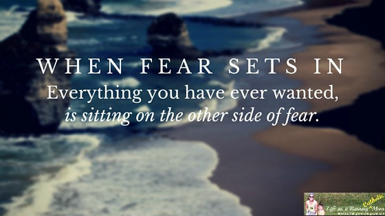 Image result for fear is part of being human