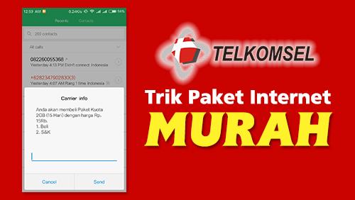 Cara Daftar Paket Internet Murah Telkomsel 2018 2gb Rp 15rb