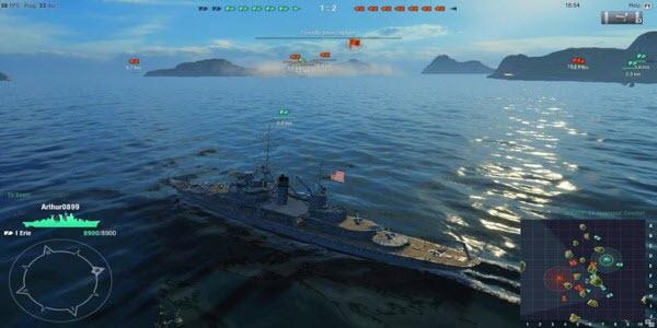 تحميل لعبة السفينة الحربية للحاسوب
