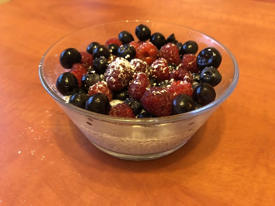 Pudding chia - idealny fit deser?