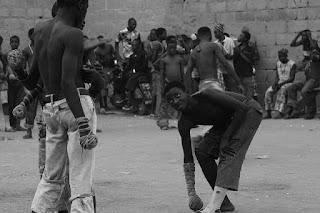 Dambe African fight night