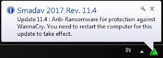 Cegah Ransomware WannaCry dengan Update Smadav Rev 11.4