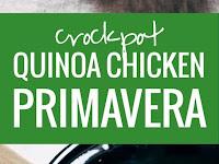 Crockpot Quinoa Chicken Primavera Recipe