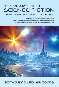 Cover image of 2012 anthology The Year's Best Science Fiction, Twenty-Ninth Annual Collection, edited by Gardner Dozois