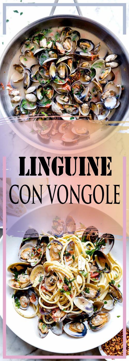 LINGUINE CON VONGOLE RECIPE
