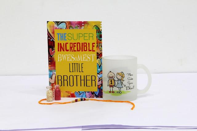 card & mug for Brother