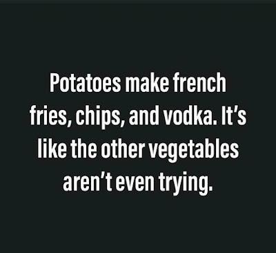 It's Nice To Be A Potato